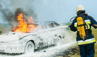 ถังดับเพลิง หรือเครื่องดับเพลิงชนิดฟองเคมี  (Chemical Foam)