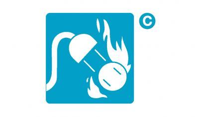 ขนาดและการติดตั้งถังดับเพลิง หรือเครื่องดับเพลิงสำหรับเพลิงประเภท ค. (Class C)