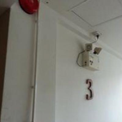 งานติดตั้งระบบดับเพลิง และงานป้าย ที่ B2