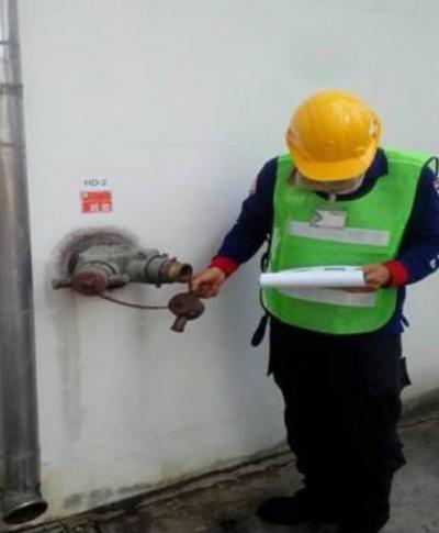 งานตรวจเช็คระบบดับเพลิง และซ่อมแซมระบบดับเพลิง VELMET แหลมฉะบัง จ.ชลบุรี